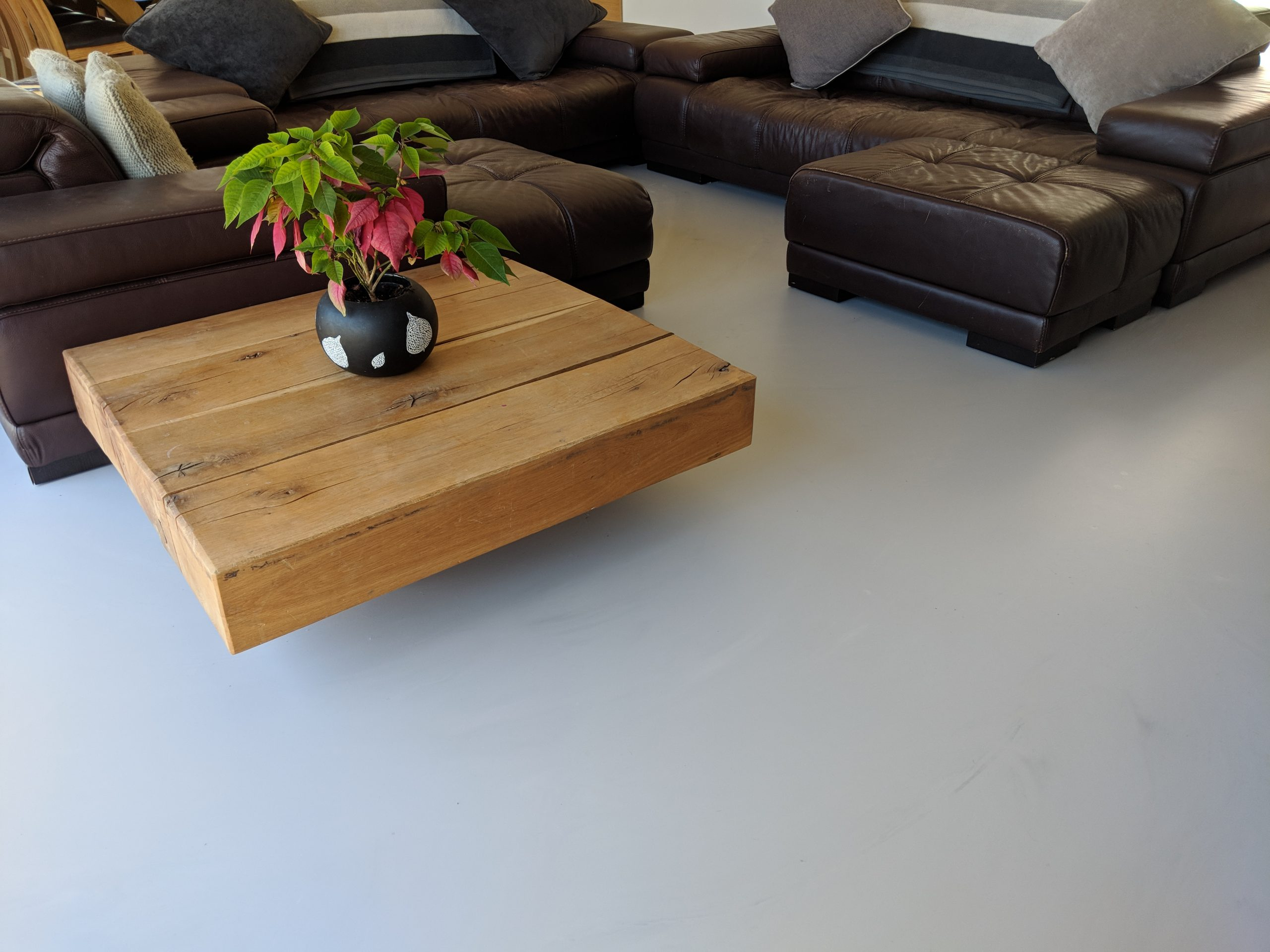 concrete look floors