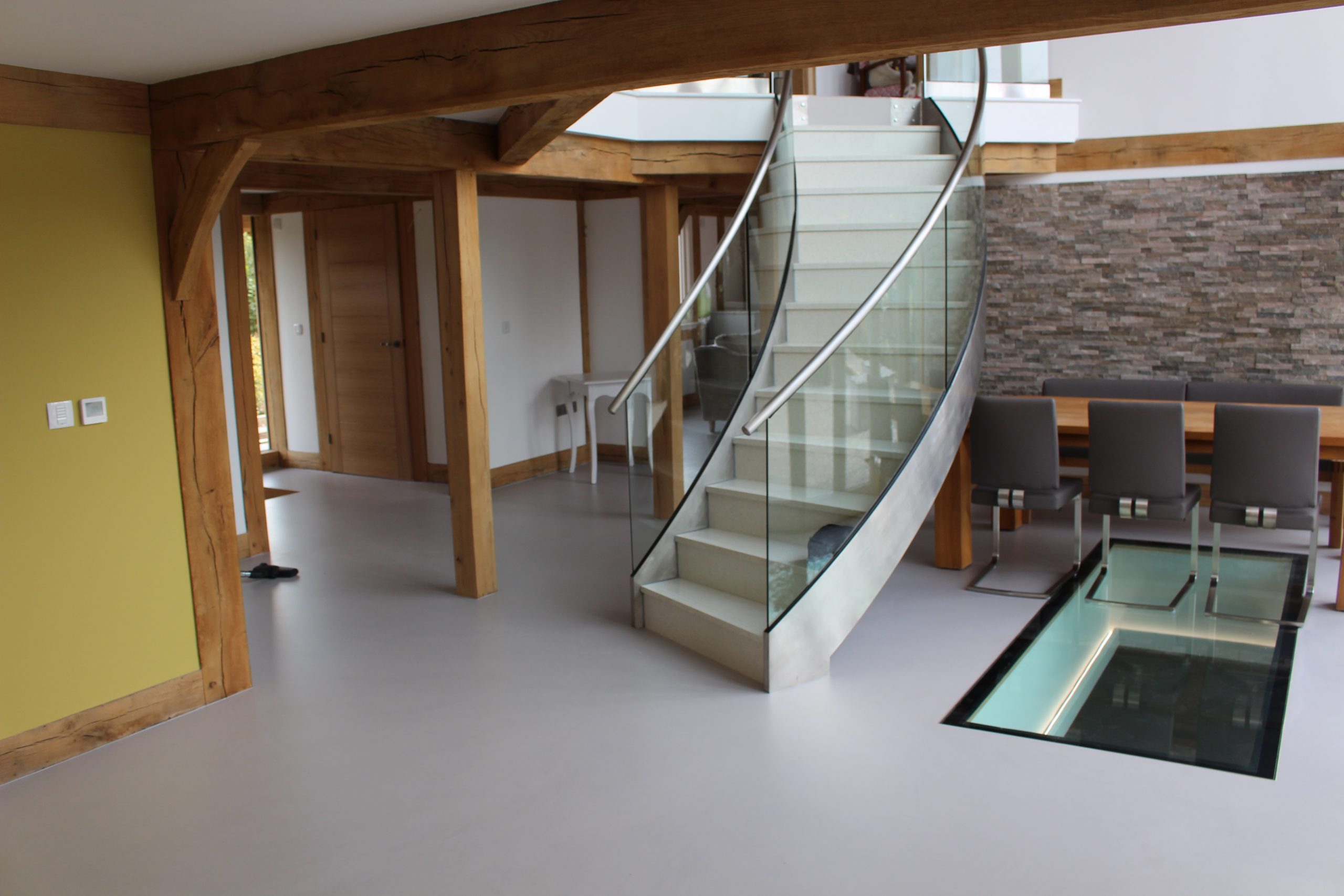 residential resin flooring